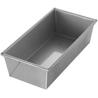 Chicago Metallic 49110 1 1/2 lb. Single Open Top Bread Pan - 10 inch x 5 inch x 3 inch