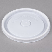 Bare by Solo LVS508-0007 8 oz. Soup / Hot Food Cup Lid - 2000/Case