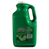 ReaLime 100% Lime Juice 1 Gallon Bottle   - 4/Case