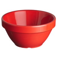 Thunder Group CR313PR 8 oz. Pure Red Smooth Melamine Bouillon Cup - 12/Case