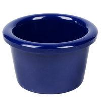 1.5 oz. Navy Blue Smooth Melamine Ramekin - 12/Pack
