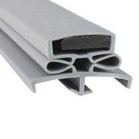 Traulsen SVC-60060-00 Equivalent Magnetic Door Gasket - 22 5/8 inch x 29 1/2 inch