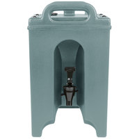 Cambro 100LCD401 Camtainer 1.5 Gallon Slate Blue Insulated Beverage Dispenser