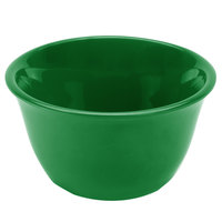Thunder Group CR303GR 7 oz. Green Smooth Melamine Bouillon Cup - 12/Case