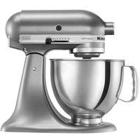 KitchenAid KSM150PSCU Contour Silver Artisan Series 5 Qt. Countertop Mixer