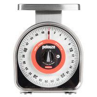 Rubbermaid Pelouze YG450R 50 lb. Mechanical Portion Control Scale (FGYG450R)