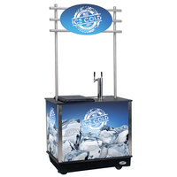 IRP Mobile Draft Cart - 1/2 Keg Capacity