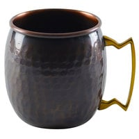 10 Strawberry Street COP-MUGANT 16 oz. Hammered Antique Copper Moscow Mule Mug