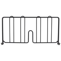 Metro DD18BL 18 inch Black Wire Shelf Divider