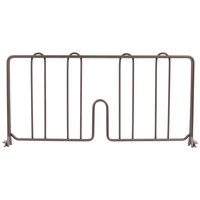 Metro DD18-DCH 18 inch Copper Hammertone Wire Shelf Divider