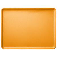 Carlisle 1216LFG019 Customizable 12 inch x 16 inch Glasteel Rust Dietary Fiberglass Tray - 12/Case