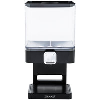 Zevro KCH-06127 Compact Black Dry Food Dispenser
