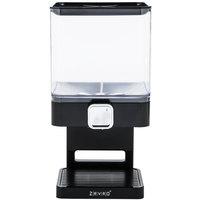 Zevro KCH-06127 Compact Black Dry Food Dispenser
