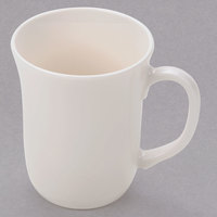 Arcoroc 48025 Opal Reception 10 oz. Ivory (American White) Stackable Mug by Arc Cardinal - 36/Case