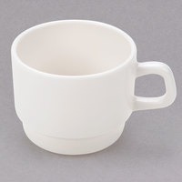 Arcoroc 47982 Opal Reception 8 oz. Ivory (American White) Stackable Cup by Arc Cardinal - 36/Case