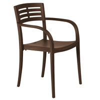 Grosfillex XA633275 / US633275 Vogue Cafe Stacking Armchair