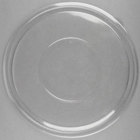 Sabert 51320 FreshPack Clear Flat Round Lid for 320 oz. Bowls - 25/Case