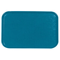 Carlisle 2618FGQ013 Customizable Ice Blue 18 inch x 26 inch Glasteel Display / Bakery Fiberglass Tray - 6 / Case
