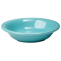 Homer Laughlin 459107 Fiesta Turquoise 6.25 oz. Fruit Bowl / Monkey Dish - 12/Case