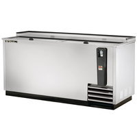 True TD-65-24-S 65 inch Stainless Steel Horizontal Bottle Cooler