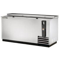 True TD-65-24-S 65 inch Stainless Steel Horizontal Bottle Cooler