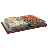 Hatco GRS-18-B 18 inch x 8 inch Glo-Ray Copper Portable Heated Shelf Warmer - 100W
