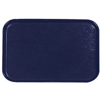 Carlisle 2618FGQ050 Customizable Sapphire Blue 18 inch x 26 inch Glasteel Display / Bakery Fiberglass Tray - 6/Case
