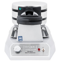 Waring WWD200 Non-Stick Double Waffle Maker - 120V
