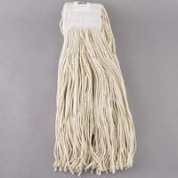 Continental Wilen A401032 32 oz. Cut End Natural Cotton Mop Head with 5 inch Band