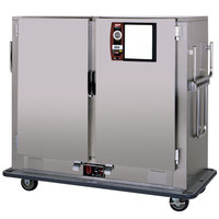Metro MBQ-150D-QH Insulated Heated Banquet Cabinet Two Door With Quad-Heat System Holds up to 150 Plates 120V