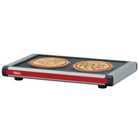 Hatco GR2S-54 54 inch Glo-Ray Warm Red Designer Portable Heated Shelves with Black Caps - 800W