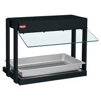 Hatco GRHW-1P Glo-Ray Black Mini-Merchandising Warmer with Toggle Controls - 820W