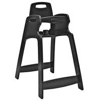 Koala Kare KB833-02 Black Assembled Recycled Plastic High Chair