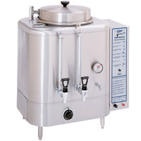 Curtis RU-150-35 Liquid Propane Automatic Single 3 Gallon Coffee Urn - 42,000 BTU