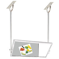 Advance Tabco MI-48 24 inch x 48 inch Ceiling Mounted Tilting Demo Mirror