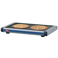 Hatco GR2S-24 24 inch Glo-Ray Navy Blue Designer Portable Heated Shelf with Black Caps - 350W