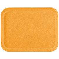 Carlisle 1212FG019 Customizable 10 7/16 inch x 12 25/32 inch (26.5 x 32.5 cm) Glasteel Metric Rust Fiberglass Tray - 12/Case