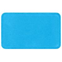 Carlisle 1220FG97003 Customizable 13 inch x 21 inch (32.5 x 53 cm) Glasteel Metric Pacific Blue Fiberglass Tray - 12/Case