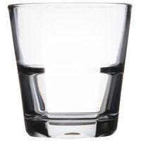 Anchor Hocking 90253 Clarisse 12 oz. Stackable Double Rocks / Old Fashioned Glass - 24/Case