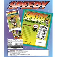 Speedy 1 Window Pull Tab Tickets - 252 Tickets Per Deal - Total Payout: $200