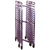 Win-Holt SS-1820N 20 Pan End Load Stainless Steel Nesting Bun / Sheet Pan Rack - Assembled