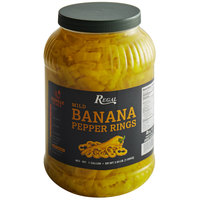 Regal Foods Mild Banana Pepper Rings 1 Gallon - 4/Case