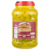 Mild Banana Pepper Rings 1 Gallon Container   - 4/Case