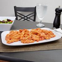 GET CS-6105-W 13 inch x 7 5/8 inch White Siciliano Rectangular Platter
