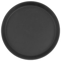 Cambro 1100CT110 Camtread® 11 inch Round Black Non-Skid Serving Tray   - 12/Case