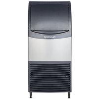 Scotsman CU0715MA-1 15 inch Air Cooled Undercounter Medium Cube Ice Machine - 80 lb.