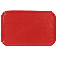 Carlisle 2115FG020 Customizable 14 3/4 inch x 20 7/8 inch (37,5 cm x 53 cm) Glasteel Metric Coral Fiberglass Tray - 12/Pack