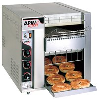 APW Wyott BT-15-3 Bagel Master Conveyor Toaster with 3 inch Opening - 240V