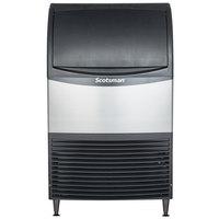 Scotsman CU0920MA-1 20 inch Air Cooled Undercounter Medium Cube Ice Machine - 100 lb.