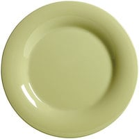 GET WP-10-AV Avocado Diamond Harvest 10 1/2 inch Wide Rim Plate - 12/Case
